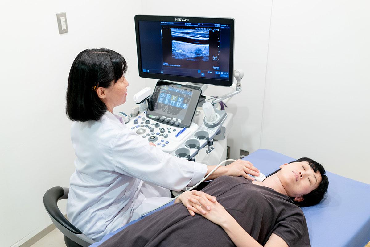 頚動脈超音波検査